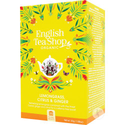 English Tea Shop Lemongrass Citrus Ginger 20 zakjes