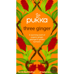 Pukka Three Ginger Bio 20 Teebeutel