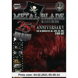 Various Artists Metal Blade 25th Anniversary Videos Metalfest 2 DVDs