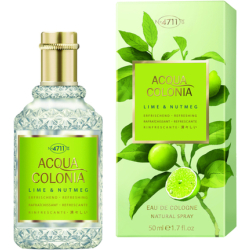 Acqua Colonia Lime Nutmeg Eau de Cologne Nat. Splash Spray (170 ml)