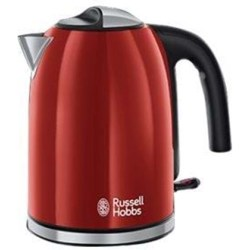 RUSSELL HOBBS Wasserkocher 20412 70 WK Colours Plus Flame Red 1 7 l 2400 W