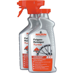 NIGRIN Performance Felgen Reiniger Turbo 500 ml Doppelpack