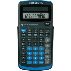 Texas Instruments 30RS TBL 5E1 TI30ECORS Battery Powered Scientific Calculator
