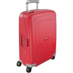 Samsonite Trolley S 39 Cure Spinner 55cm (49539 1235 Crimson Red) rot