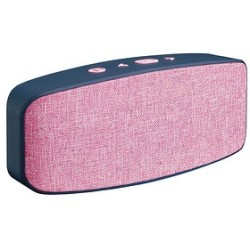 Lenco BT 130 PK Mono portable speaker 6W Pink Tragbarer Lautsprecher (BT 130PK)