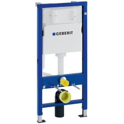 Geberit Duofix Basic Wand WC Montageelement 112 cm mit Delta UP Spülkasten UP100 458103001