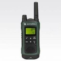 Motorola TLKR T81 Hunter Tragbar Two Way Radio PMR 8 Kanäle Schwarz grün (188034)