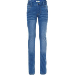 NAME IT Super Stretch X slim Fit Jeans Herren Blau