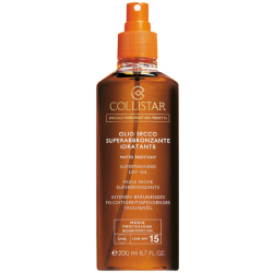 Collistar Special Perfect Tan Supertanning Dry Oil LSF15 200 ml