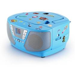 Tragbares CD Radio Kids blau NEU AU364446