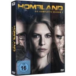 Homeland Staffel 3 DVD