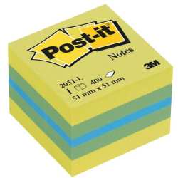 1x Post it® Mini Haftnotizen 2051 L farbsortiert