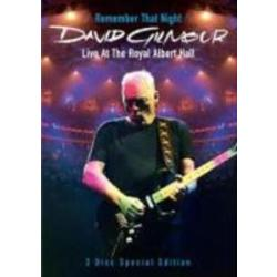 David Gilmour Remember That Night Live At The Royal Albert Hall (2 DVDs)