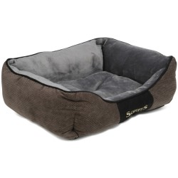 Scruffs Hundebett Chester Box Bed Grau L