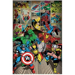 Marvel Comics Here Come The Heroes