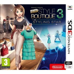 New Style Boutique 3 Styling Star Nintendo 3DS Lifestyle PEGI 3