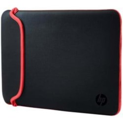 HP Notebook Sleeve Black Red »39 62 cm (15 6 Zoll) Neoprenhülle«