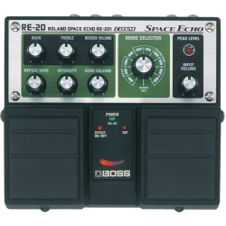 Boss RE 20 Space Echo Effekte