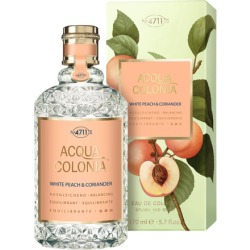 4711 White Peach Coriander Eau de Cologne 170 ml