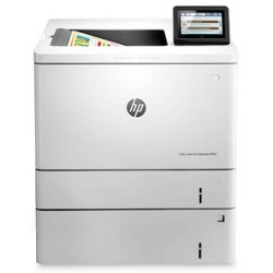 HP Color LaserJet Enterprise M553x Farb Laserdrucker grau