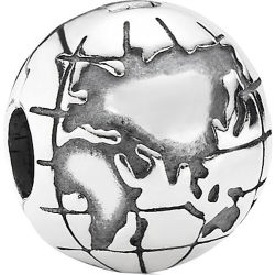 Clip Element 925er Silber Globe