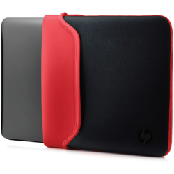 HP Laptoptasche »39 62 cm (15 6 Zoll) Neoprenhülle« (1 tlg) Sleeve Black Red