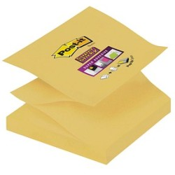 Post it Super Sticky Z Notes gelb 76x76mm 1x90 Bl