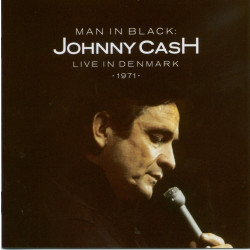 Johnny Cash Man in Black Live in Denmark 1971 CD