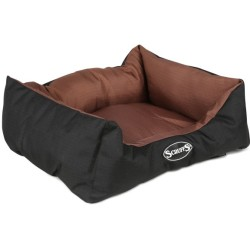 Scruffs Hundebett Expedition Box Bed Braun S