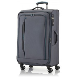 Travelite Crosslite 4 Rollen Trolley L 77 cm Anthrazit
