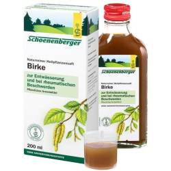 Birkensaft Schoenenberger 200 ml Saft