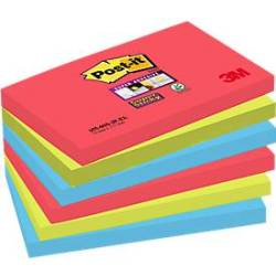 Post it Haftnotiz Super Sticky 127 x 76 mm gelb 90 Blatt