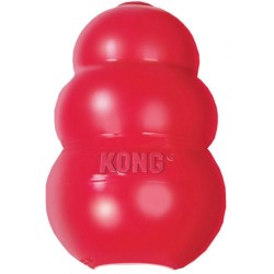 KONG Classic Hundespielzeug L Large rot 11 cm