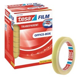(0 15 EUR 1 m) Tesa Klebeband Office 15mm x 66m transparent