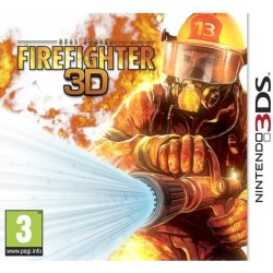 Real Heroes Firefighter 3D Nintendo 3DS Action PEGI 3