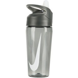 Nike TR Hypercharge Straw Bottle Trinkflasche 473 ml 032 anthracite cool grey white