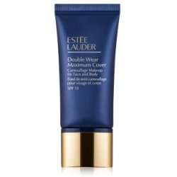 Estée Lauder Foundation Double Wear Maximum Cover Camouflage Makeup for Face And Body SPF Fluid 1N3 Creamy Vanilla 30ml