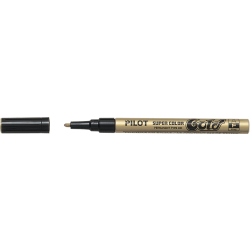 PILOT Permanent Marker SUPER COLOR extra feine Spitze gold