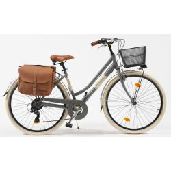VENICE I love Italy Cityrad Citybike 605 Alu Lady 6 Gang Kettenschaltung