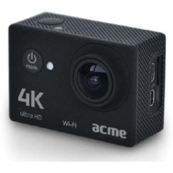 Acme VR06 Ultra HD Action Cam mit Wi Fi Video 4k Ultra HD Videoaufnahme (3.840 x 2.160 Pixel 25 fps) 5 10cm (2) LCD Display (181689)