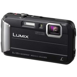 Panasonic LUMIX DMC FT30 Digitalkamera schwarz 16 1 Mio. Pixel