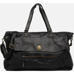 Pieces Totally Royal leather Travel bag Handtaschen schwarz