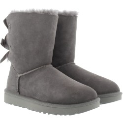 UGG Boots W Bailey Bow II Grey in grau für Damen