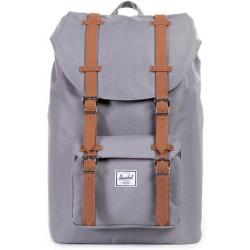 Herschel Little America Mid Volume Backpack 17 I 40.5 cm grey tan synthetic leather
