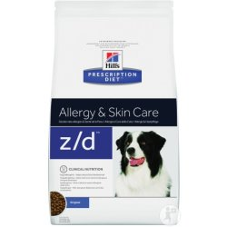 Hill's Pet Nutrition Prescription Diet Canine Z D Allergie Und Hautpflege 3kg