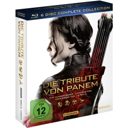 Die Tribute von Panem Complete Collection (6 Discs inkl. Blu ray 3D)