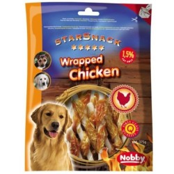 Nobby StarSnack Barbecue Wrapped Chicken 375 g