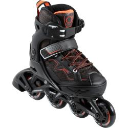 Inline Skates Inliner Fitness FIT 3 Kinder schwarz orange