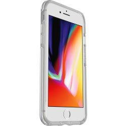 OtterBox Symmetry Clear hoch transparente sturzsichere Schutzhülle für iPhone 7 Clear Crystal